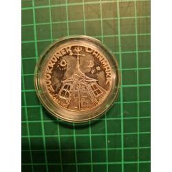 Sølvbryllupsmønt 200 Krone...