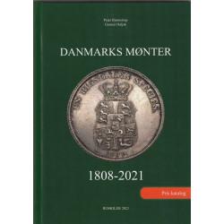DANMARKS MØNTER 1808-2021