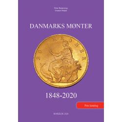 DANMARKS MØNTER 1848-2020