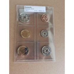 2020 Cirkulationsmøntsæt